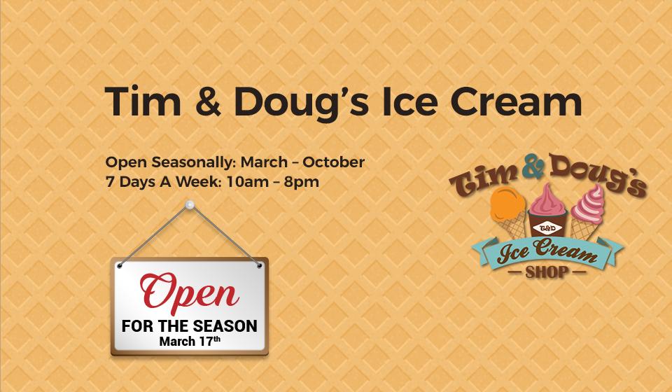 Tim & Doug's Ice Cream
